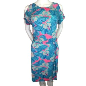 Tracy Negoshian Addisyn Butterfly Dress Sz S